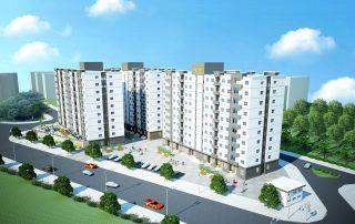 Các căn hộ tại Sunhome được thiết kế không giản mở thoáng đãng