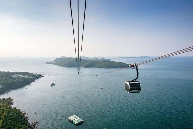 Cáp treo Hòn Thơm dài nhất thế giới mang tới nhiều trải nghiệm ấn tượng với du khách quốc tế