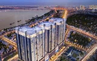 Sun Grand City Ancora Residence với tầm nhìn trọng Sông Hồng