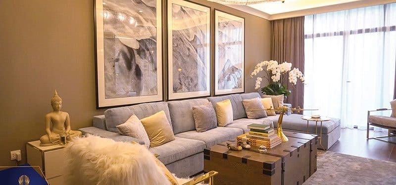 Phòng Khách  Sun Grand City Ancora Residence