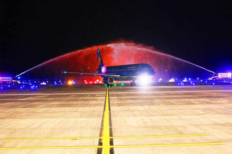 Chuyến bay mang số hiệu VN9411 của hãng hàng không Vietnam Airlines