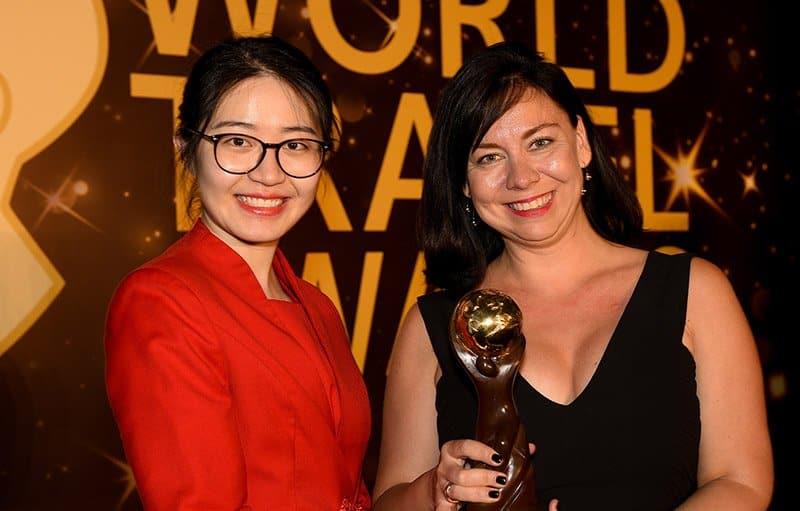 Giải thưởng được trao tặng cho InterContinental Danang Sun Peninsula Resort trong sự kiện.