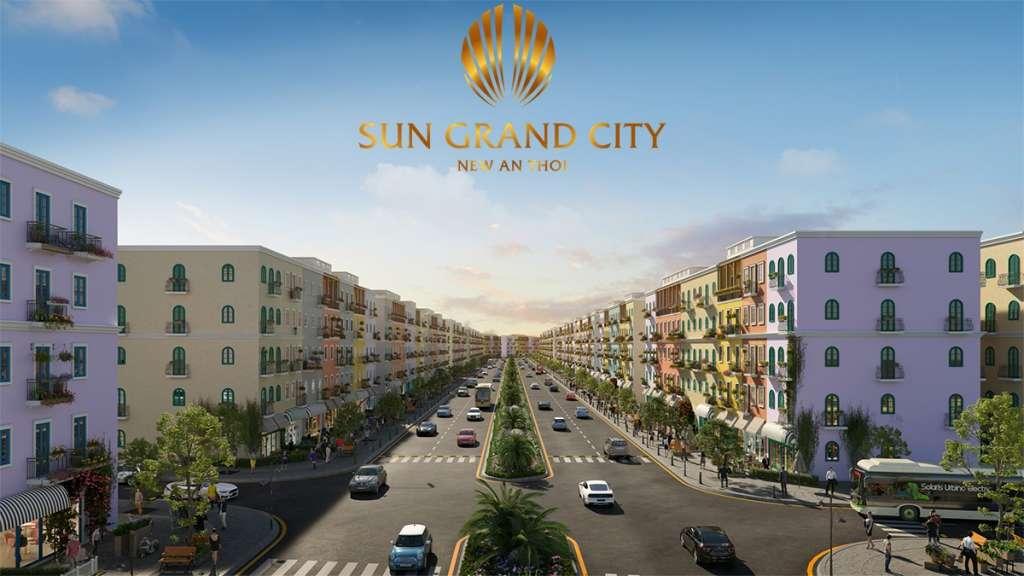 Dự án Sun Grand City New An Thới tọa lạc tại thị trấn An Thới, huyện Phú Quốc.