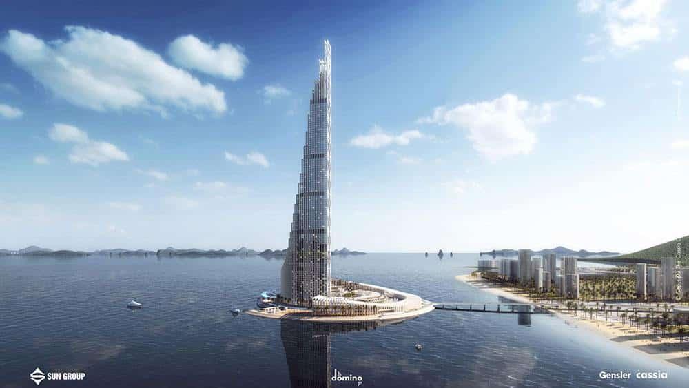 Hạ Long Sẽ Có Tháp Cao Nhất Việt Nam – Tháp Sun Cao 99 Tầng