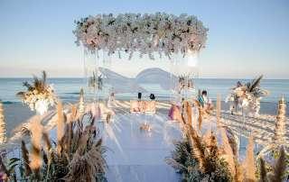 Hình ảnh lộng lẫy của đám cưới tỷ phú Ấn Độ diễn ra tại JW Marriott Phu Quoc Emerald Bay tháng 3/2019.