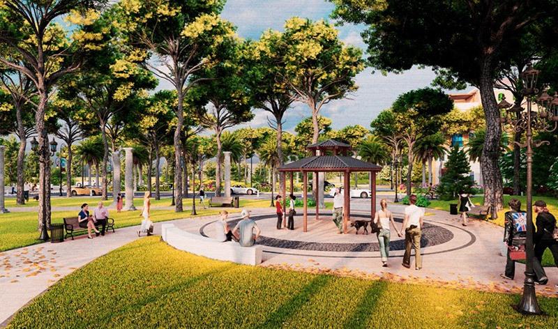Không gian tiện nghi, xanh mát trong khu đô thị mang đến cho cư dân một cuộc sống chất lượng.