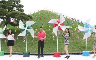 Những con đường chong chóng rực rỡ màu sắc tại Sun World Halong Complex