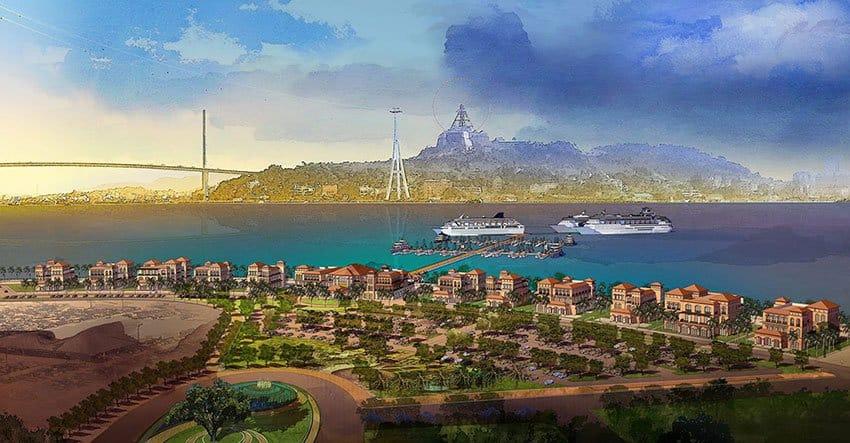 Tổ hợp khu nghỉ dưỡng Sun Group Hạ Long.