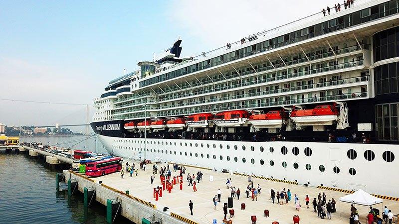 Sau 4 tháng hoạt động, bến tàu du lịch quốc tế đã đón 56.000 lượt khách