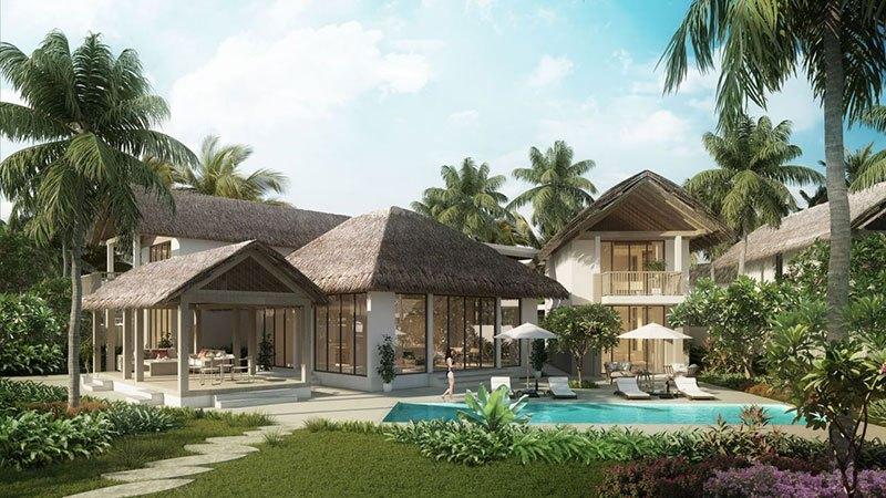 Sun Premier Village Kem Beach Resort được thiết kế theo phong cách làng chài nghỉ dưỡng bên Bãi Kem.