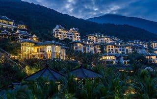 View nội khu dự án InterContinental Danang Sun Peninsula Resort
