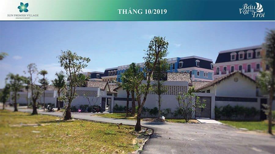 Tiến độ xây dựng Sun Premier Village Kem Beach Resort tháng 10/2019