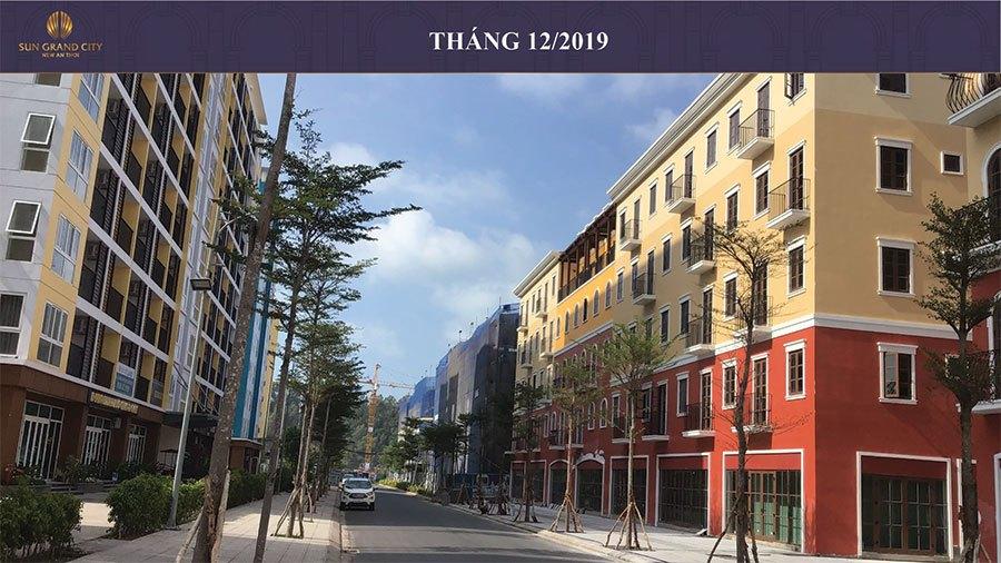 Tiến độ xây dựng Sun Grand City New An Thới Nam Phú Quốc tháng 12/2019