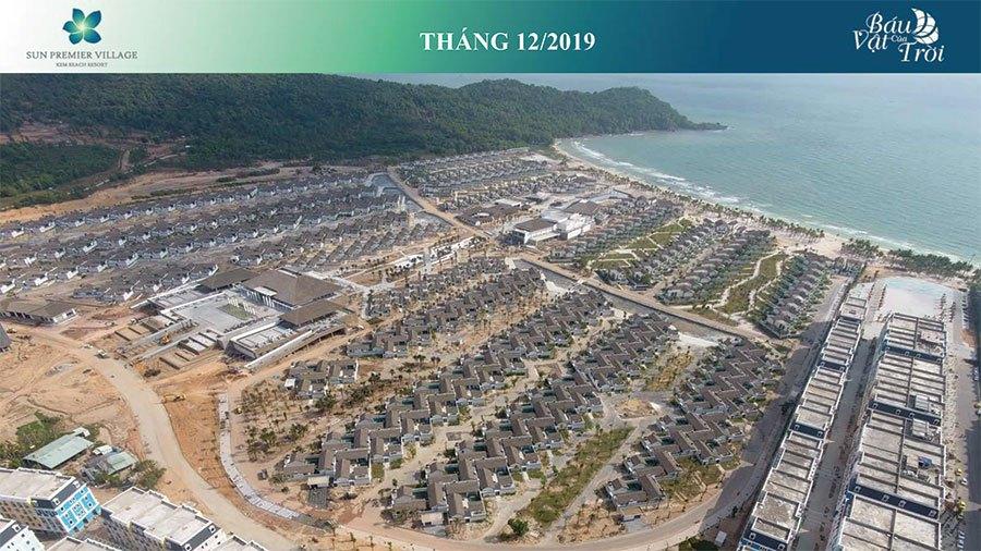 Tiến độ xây dựng Sun Premier Village Kem Beach Resort tháng 12/2019