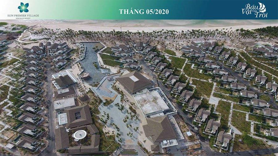 Tiến độ xây dựng Sun Premier Village Kem Beach Resort tháng 05/2020