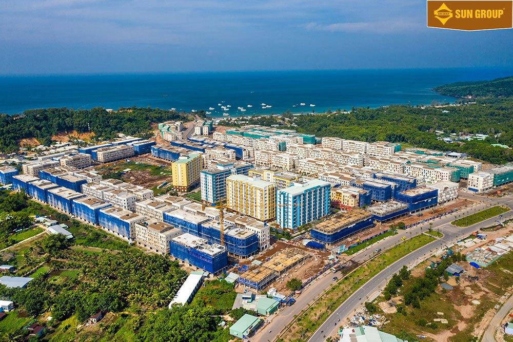 Tiến độ xây dựng Sun Grand City New An Thới tháng 11/2020