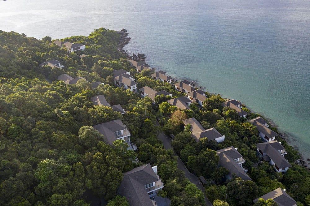 Tổng thể toàn khu biệt thự Sun Premier Village The Eden Bay chỉ 51 căn duy nhất.