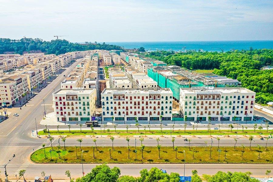Tiến độ xây dựng Sun Grand City New An Thới tháng 01/2021.