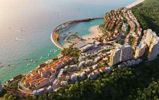 Thị trấn Địa Trung Hải được đầu tư bởi tập đoàn Sun Group tại Nam Phú Quốc
