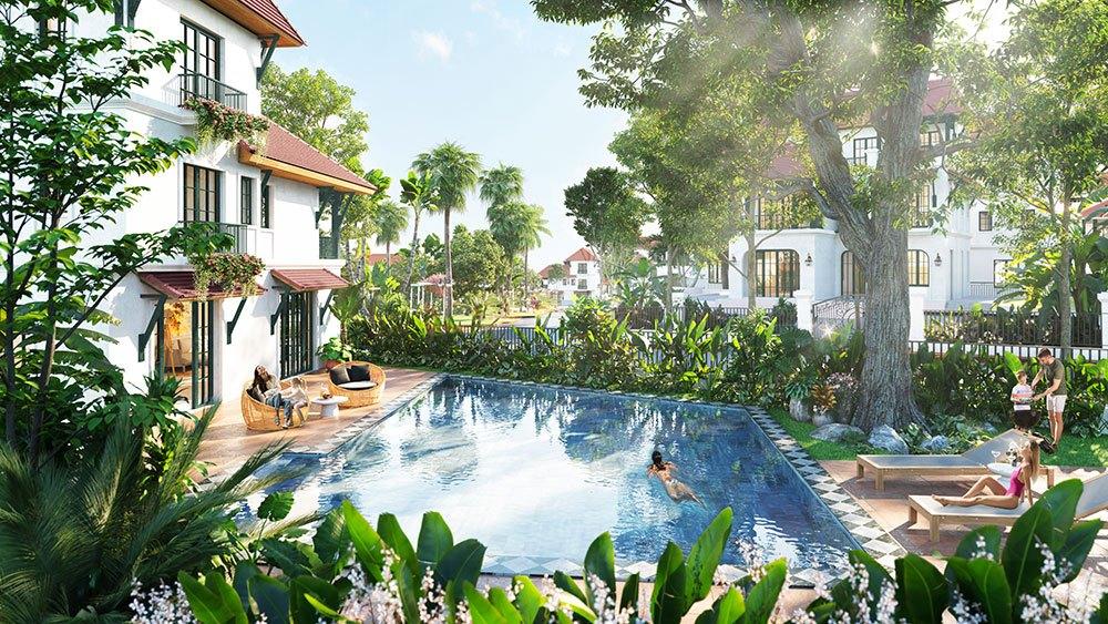 Trở về với thiên nhiên ngay chính ngôi nhà của mình tại Sun Tropical Village Nam Phú Quốc.