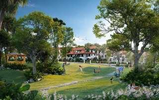 Phối cảnh Sun Tropical Village - dòng wellness second home tại Nam Phú Quốc.