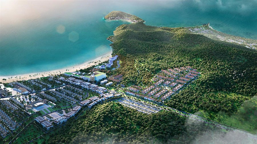 Sun Tropical Village là mảnh ghép mới của quần thể Bãi Kem, Nam Phú Quốc.