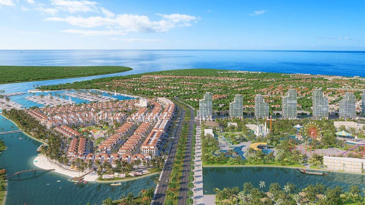 Thành phố nghỉ dưỡng đa sắc màu Sun Riverside Village siêu phẩm mới sắp xuất hiện tại Sầm Sơn, Thanh Hóa.