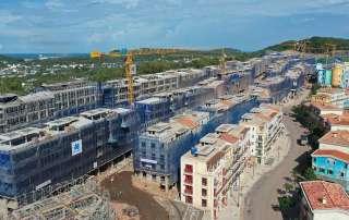 Tiến Độ Xây Dựng Hệ Sinh Thái Nam Phú Quốc Tháng 08/2021.